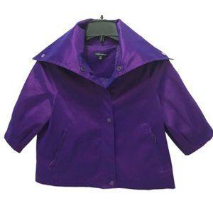 Samuel Dong High Collar Blazer Jacket, S